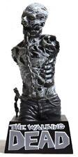 ESZ8886. Walking Dead MICHONNE'S PET ZOMBIE Black & White Vinyl Bust Bank (2013)