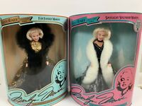 Marylin Monroe Dolls Collectors Series Two Marylins