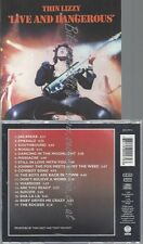 CD--THIN LIZZY--LIVE AND DANGEROUS