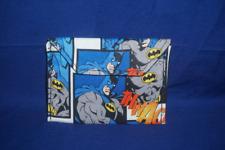 Handmade Batman DC Comics Cotton Snap Button Wallet Coin Purse ID Holder