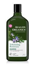 3 X Avalon Organics Volumizing Rosemary Shampoo 325ml