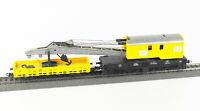 ROCO Spur H0 46331 Kranwagen 6-achsig mit Kranschutzwagen, DB, Epoche IV, AC
