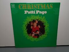 PATTI PAGE CHRISTMAS WITH (VG) MGW-12174 LP VINYL RECORD