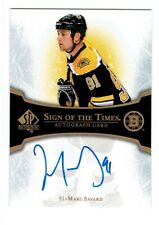 Marc Savard 2007-08 SP Authentic Sign of the Times #STMS