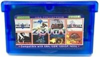 23 in 1 Game Boy advance Video Game GBA multicart