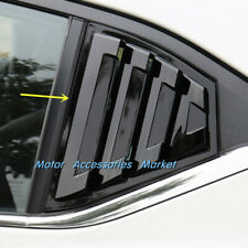 New Gloss Black Window Louvers For Nissan Sentra 2020 2021