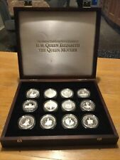 More details for the official coin collection of hm queen elizabeth the queen mother