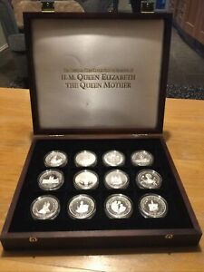 The Official Coin Collection of HM Queen Elizabeth the Queen Mother