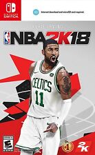 NBA2K18 [Nintendo Switch EA Sports Basketball Online Multiplayer] NEW