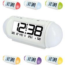 technoline WT 499 Funkuhr mit Wake Up Light