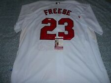 Cardinals David Freese Signed Auto Autographed MLB Baseball Jersey JSA COA