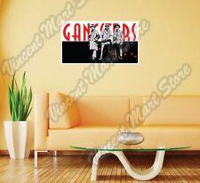 "Gangster Criminal Gang Crime Al Capone Wall Sticker Room Interior Decor 25""X12"""