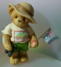 "CHERISHED TEDDIES - ""SIDNEY""  AUSTRALIAN EXCLUSIVE NEW & MINT IN BOX 805564"
