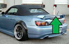 for HONDA S2000 2000-2007 MODELS Unpainted/Primer Factory-Style Rear Spoiler New