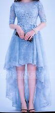 Sky Blue Ballgown Cocktail Prom Dress