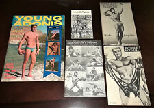 Physique Pictorial (Lot of 71 different regular issues, 1955-1991, + extras)