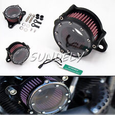 UK CNC Air Cleaner Intake Filter For Harley Sportster iron XL 883/1200 48 custom