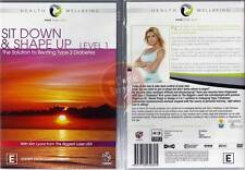 Sit Down Shape Up Level 1 - Solution to Beating Type 2 Diabetes NEW DVD