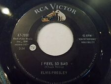 Elvis Presley I Feel So Bad / Wild In The Country 45 1961 RCA Vinyl Record