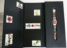 Swatch Watch Sam Francis GZ123 Limited Edition Special 1992