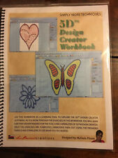 BLOWOUT SALE!!!!  Embroidery 5D Design Creator Workbook