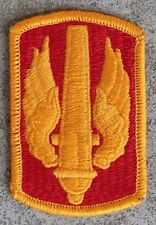 New Dealer Lot of 200 18th Field Artillery Brigade Patches, Sew-On, Full Color