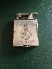 More details for vintage parker beacon petrol lighter royal marines