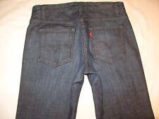 Levis Capital E Jeans Womens Mid Rise Flare Dark Sz 29  USA Made
