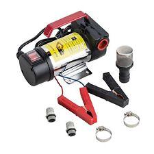 12V Bio Diesel Kerosene Fuel Transfer Direct Current Pump Kit Nozzle Dispenser