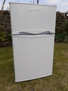 LEC T50084W SB Undercounter Fridge Freezer White Only used 11 Months BD20 9JH