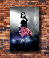 T1832 20x30 24x36 Silk Poster Evanescence- Art Print