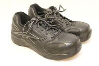 REEBOK RB4490 Black Occupational Work Shoes Size 6M