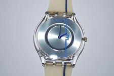 2004 Vintage Swatch SKIN Watch SFK-195 THIRD LINE Swiss Unisex Quartz Plastic