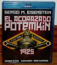 EL ACORAZADO POTEMKIN 1925 BLU-RAY NUEVO CINE MUDO SUBTITULADO (SIN ABRIR) R2