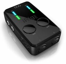IK Multimedia iRig Pro Duo Audio/MIDI Interface for iOS Android and Mac/PC