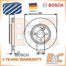 2x BOSCH FRONT BRAKE DISC SET MINI OEM 0986479437 34116858651