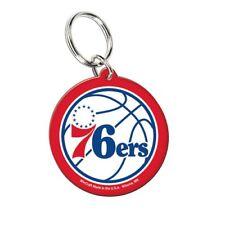 Philadelphia 76ers Wincraft NBA Acrylic LOGO Key Ring FREE SHIP!!