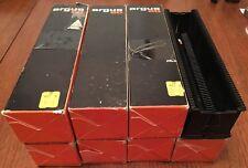 "8 x Genuine ""ARGUS 60"" 35mm Proiettore di diapositive riviste, spill-proof, 60 diapositive EA"