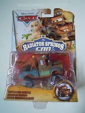 Cars disney pixar 2015 raro Cricchetto OFF-ROAD Mater Rad Springs 500 1/2 mattel