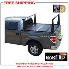 BAKFlip CS-F1 Folding Tonneau Cover with Rack for Silverado / Sierra 72100BT