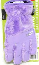 New Head Youth Thermal Fleece Gloves DuPont Sorona Fill Periwinkle M Age 7-10