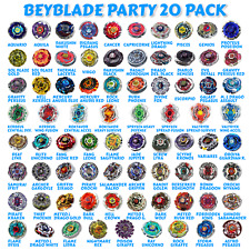 Beyblade 20 Random Party Pack from Metal Masters Fusion Fury Zero-G Burst Series