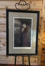 Painted By G. H. Boughton Copyright Print 1886 Titled Sunless Days
