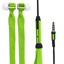 Original KZ Shoelace EARPHONE cordones pinganillo super bass Stylish en verde