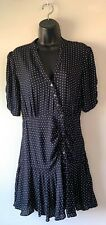 Free People Black Button Up Dress Size Small NWT