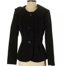 Black 3 button blazer jacket, size 4