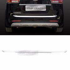 Chrome Trunk Rear Cover Molding Trim D063 1ea for KIA 2015-2017 Sedona Carnival