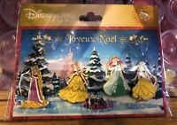PIN'S Disneyland Paris BOOSTER NOEL PRINCESSES