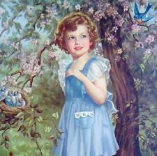 Blue Eyed Girl Blue Birds