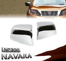 OEM Chrome Side Mirror Cover Plastic ABS Genuine Nissan Navara NP300 14 15 16